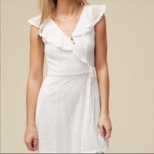 White altar'd state dress